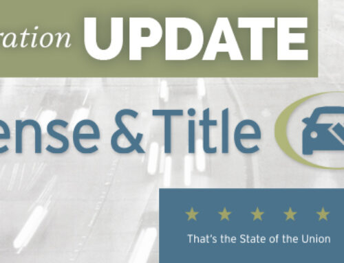 License, Title and Registration Update: Impact of the Pandemic